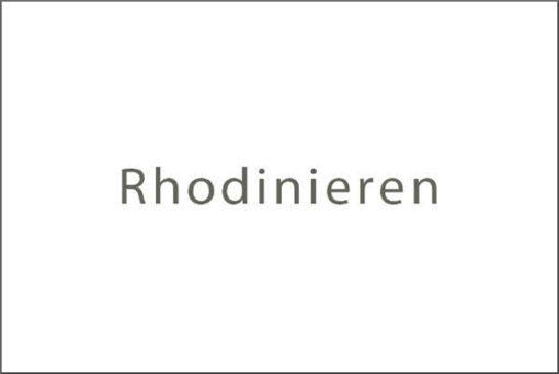 Silberschmuck Rhodinieren